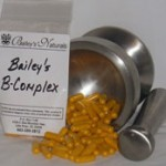 b complex tablets from baileys naturals